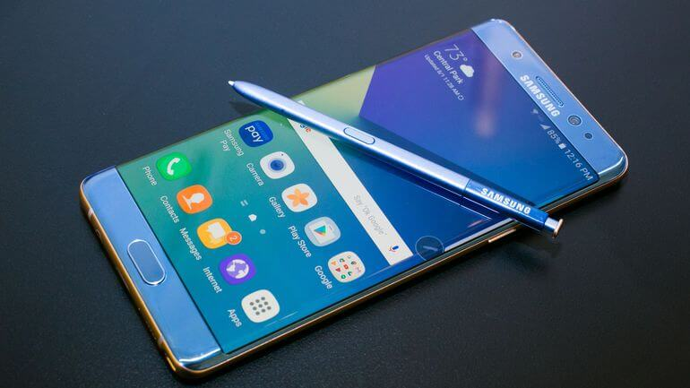 Samsung encerra Galaxy Note 7