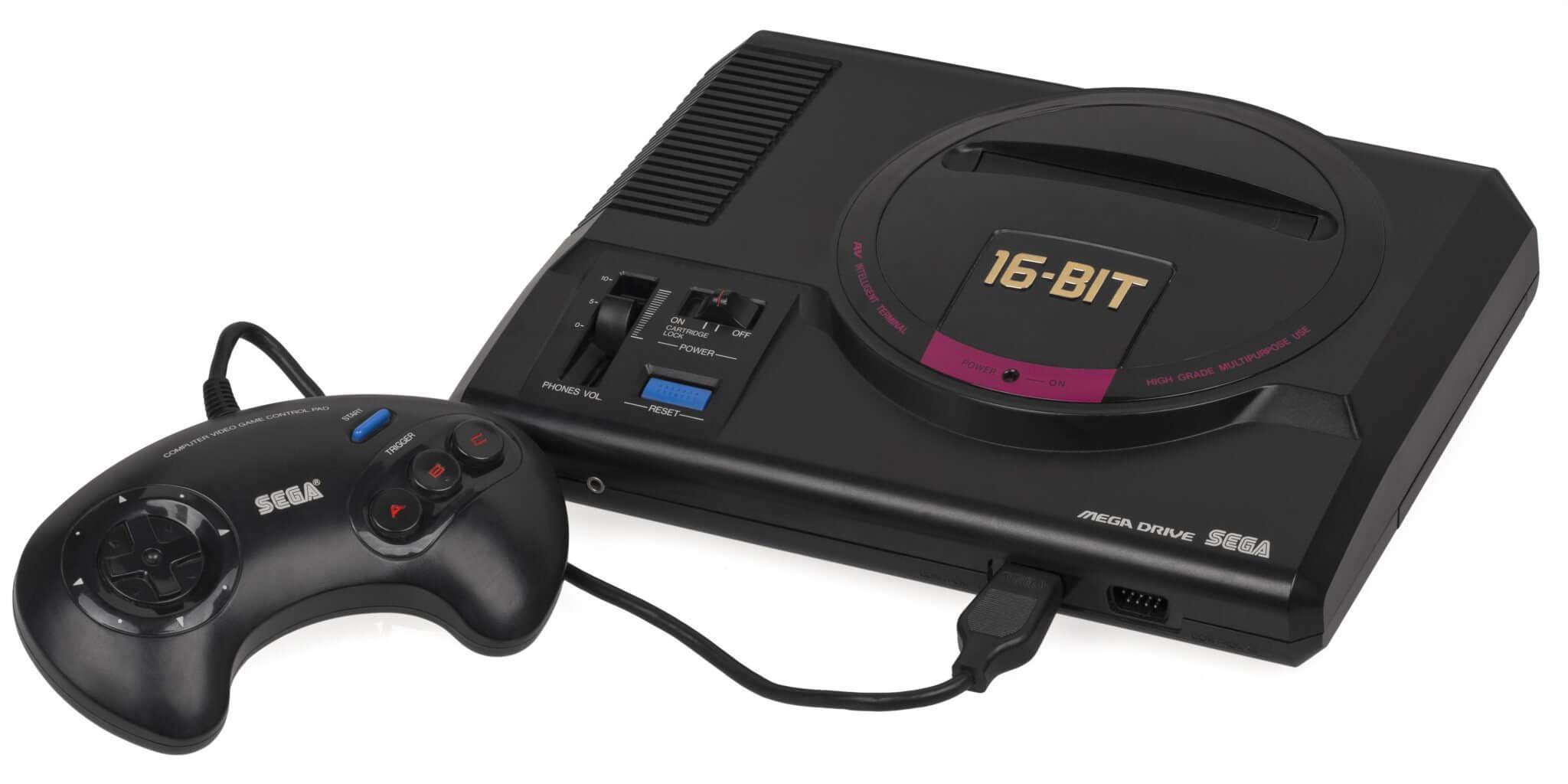 Sega Mega Drive JP Mk1 Console Set