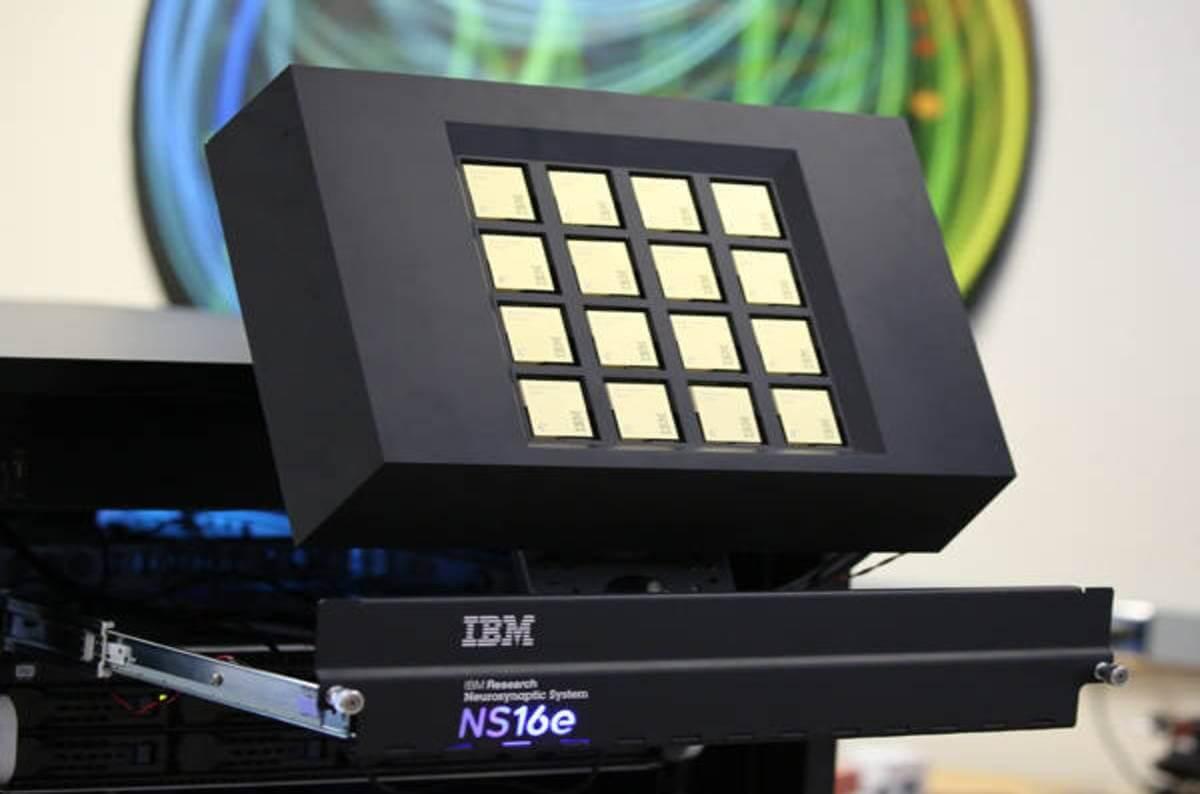O novo processador da IBM é bem parecidos com o seu cérebro