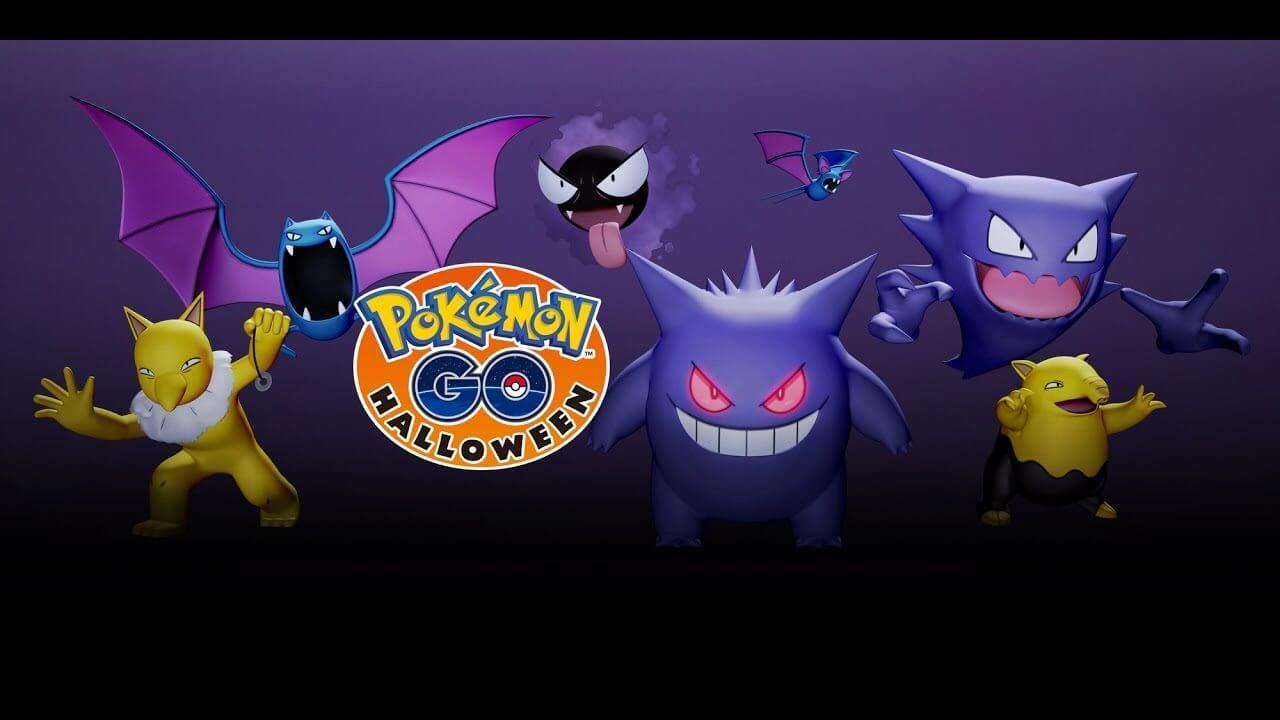 Pokémon Go recebe surpresas sobre o Halloween