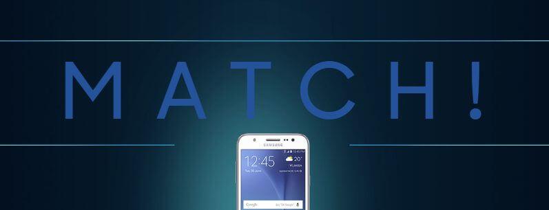 Galaxy match ajuda a escolher smartphone na black friday