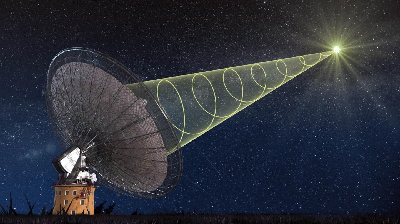 Cientistas descobrem onda de rádio misteriosa