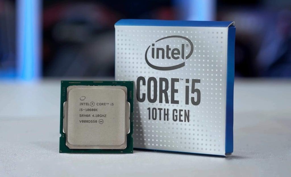 Processador core i5.