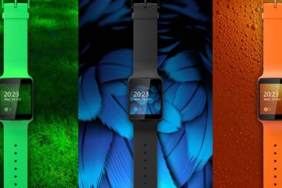 Confira um hands-on do Moonraker, projeto de smartwatch da Nokia