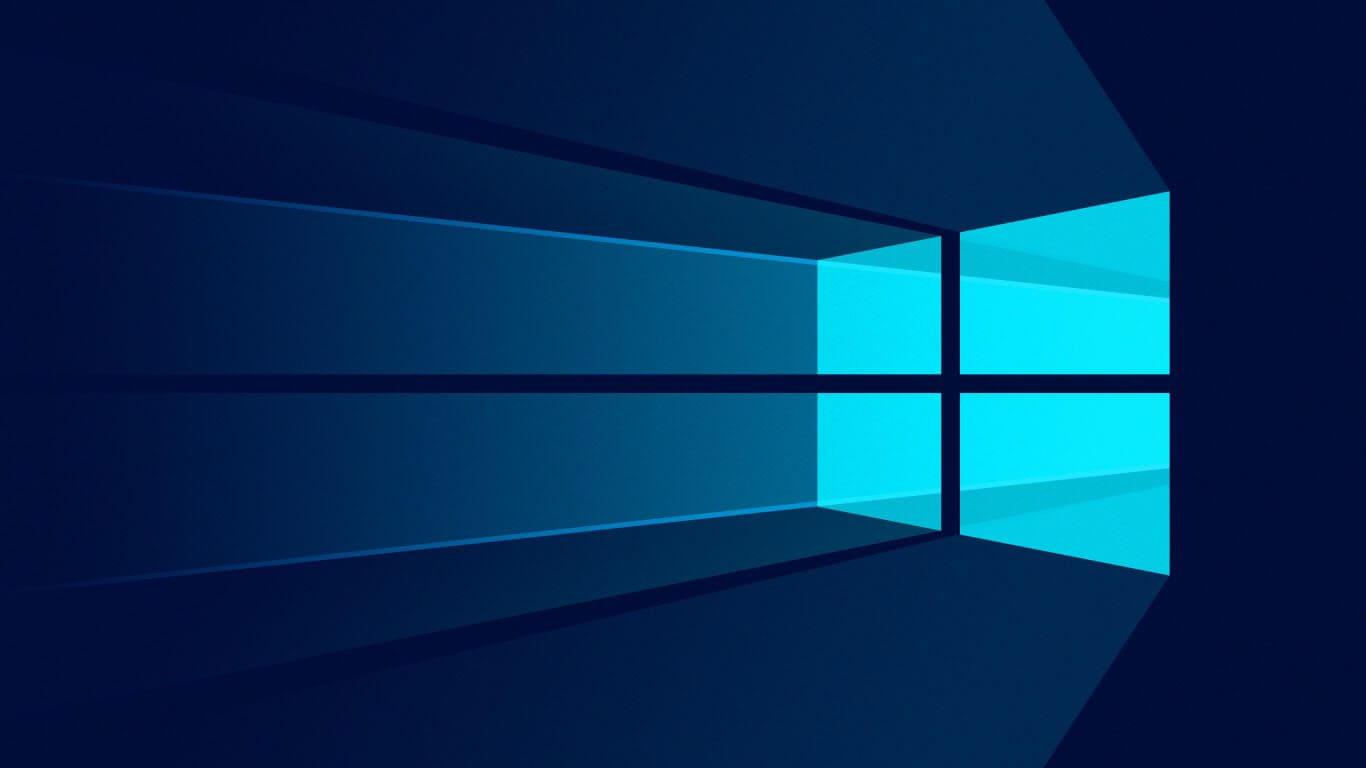 Windows 10 material wallpaper 1366x768