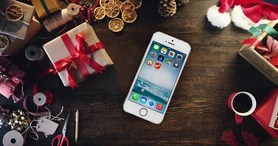 smartphone iphone natal