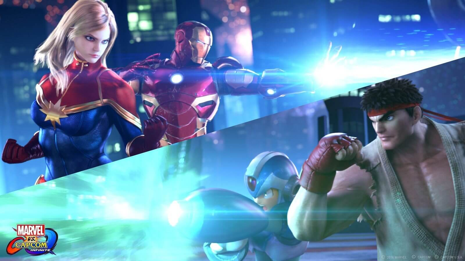 Marvel vs. Capcom: Infinite versus
