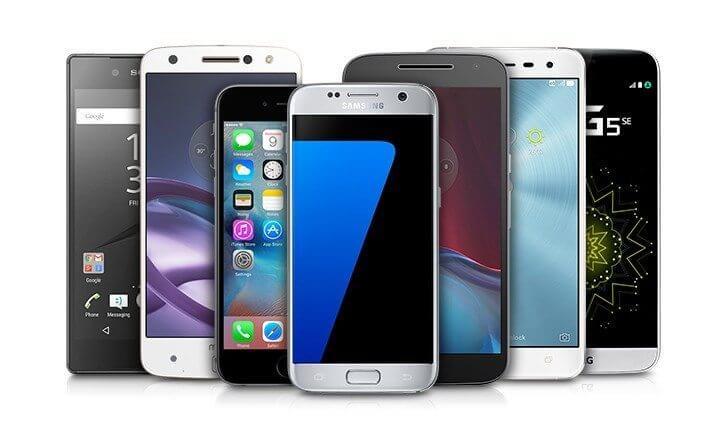 Os melhores smartphones do natal