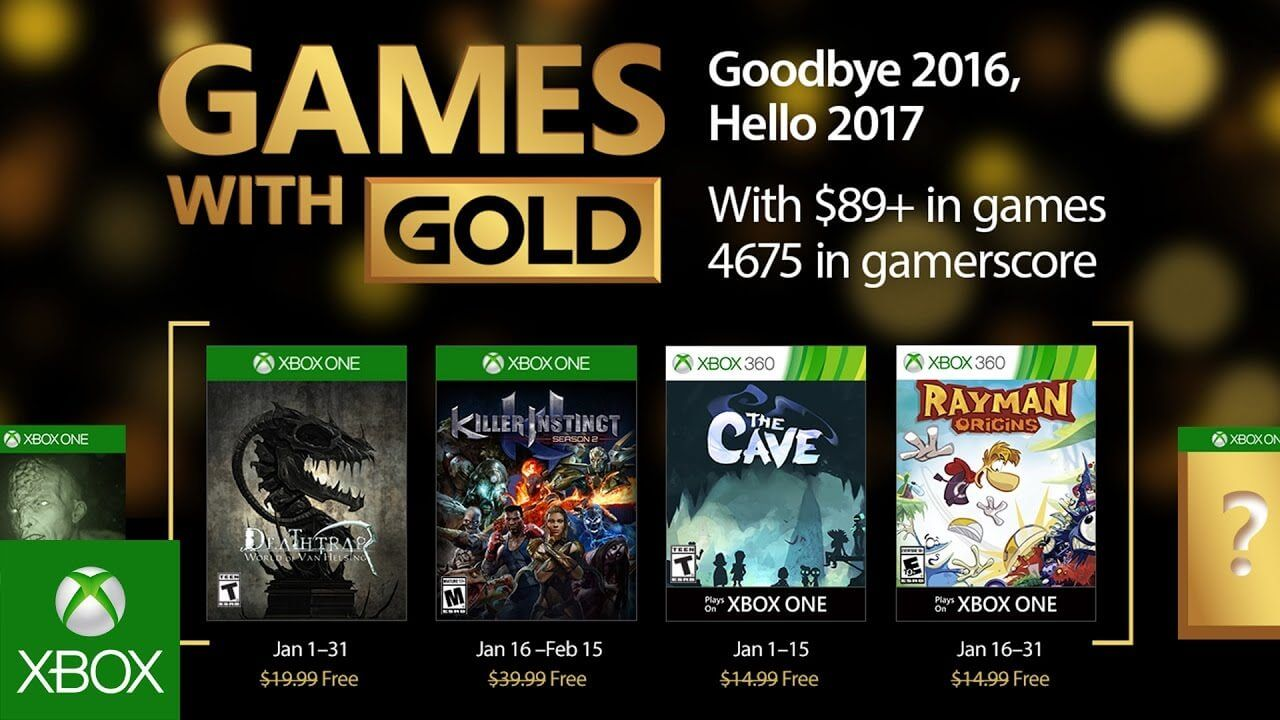 games with gold janeiro 2017