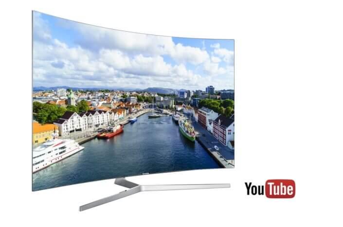 Smart TVs da Samsung terão suporte a conteúdo 4K HDR do Youtube