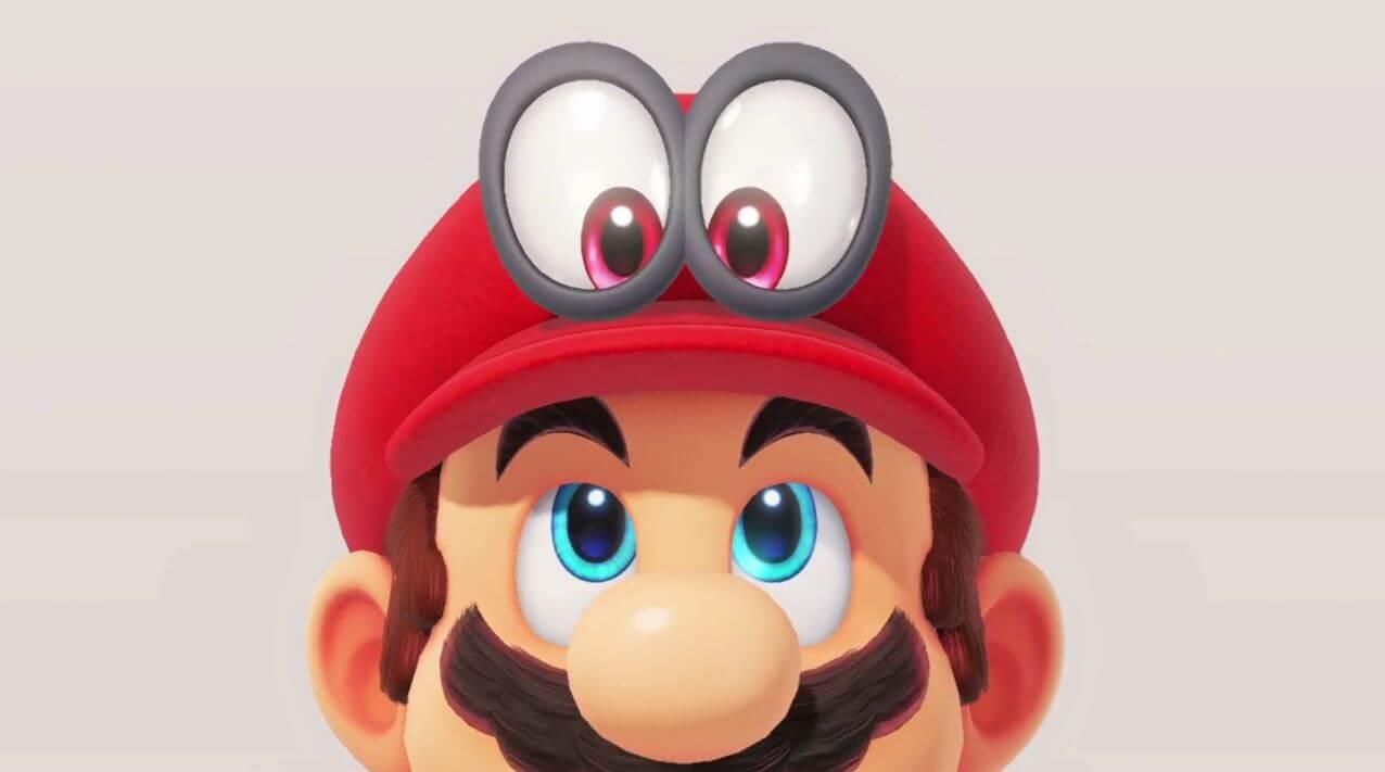 Mario odyssey eyes nintendo switch