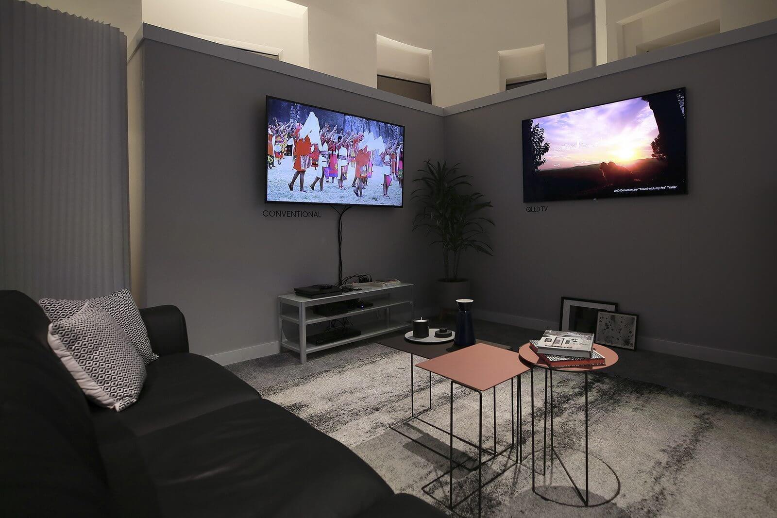 Design impecável: TVs QLED da Samsung se integram à sua área de estar 4