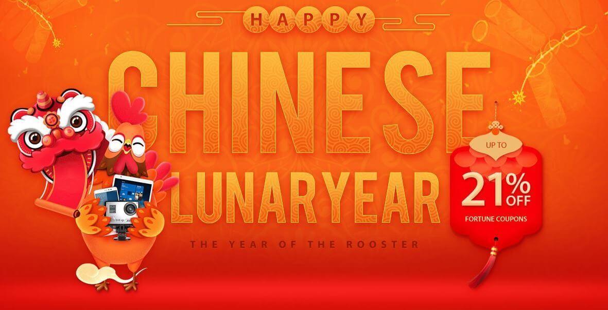 GearBest comemora o Ano Lunar chinês com descontos de até 60% em diversos smartphones