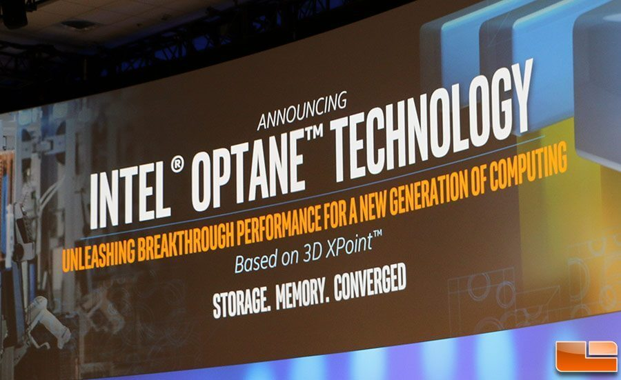 Intel optane technology