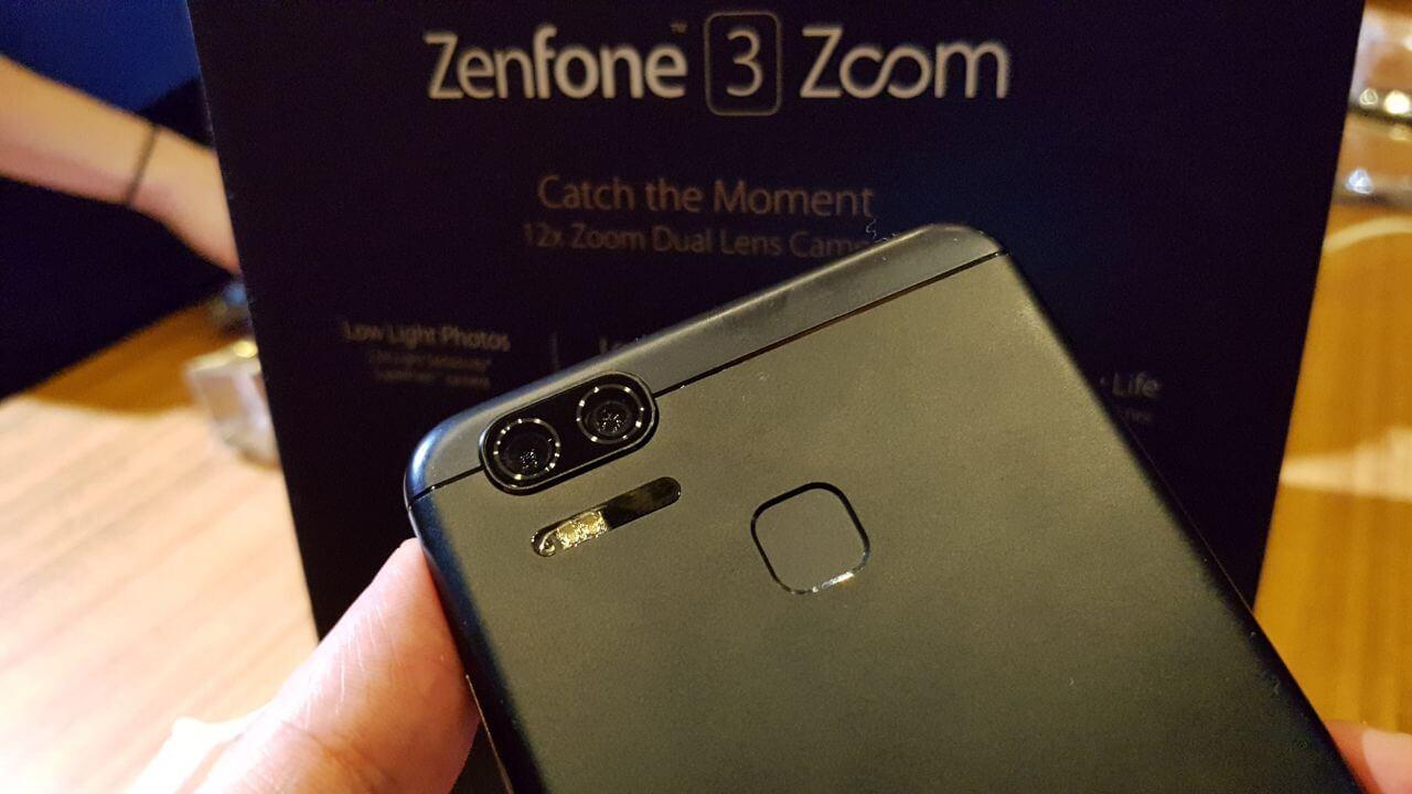 ZenFone 3 Zoom câmera