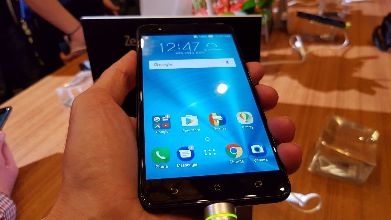 ASUS apresenta 2 novos smartphones na CES 2017