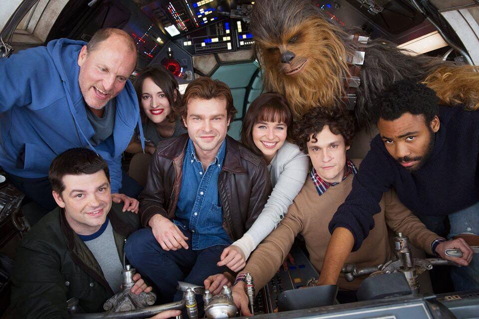 Filme de Han Solo primeira foto
