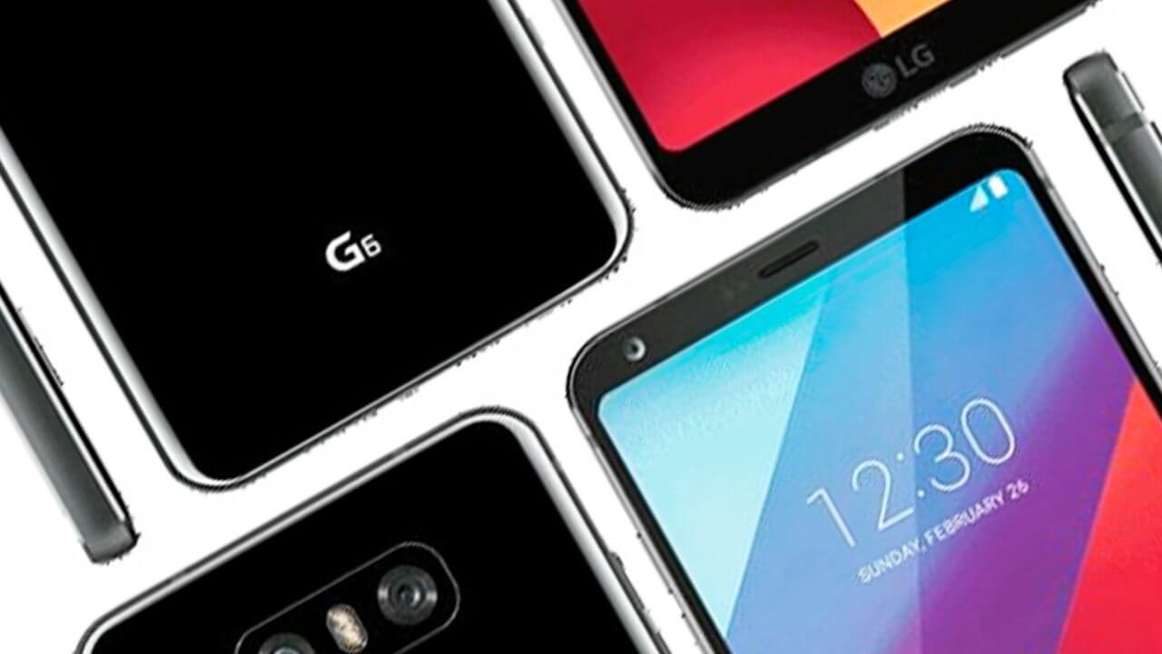 Esta é a primeira imagem do LG G6