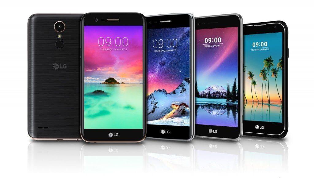 LG anuncia nova linha K no Brasil, com Android 7.0 e novo visual 4