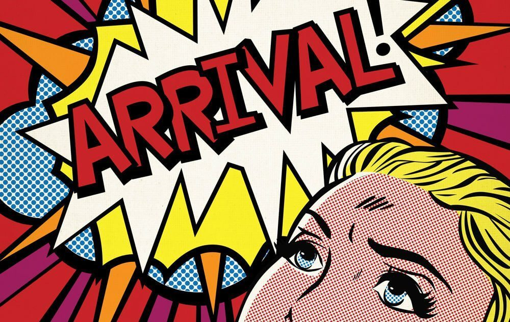 Arrival poster oscar pop 2012