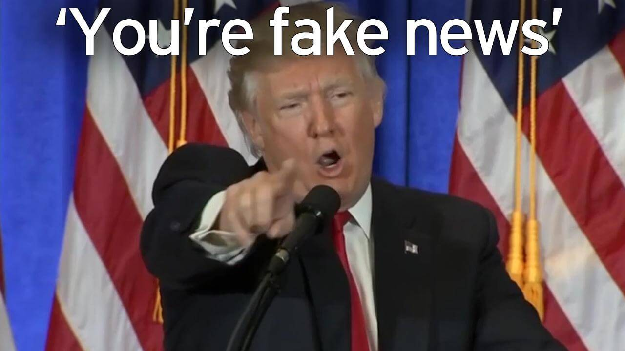 fake news trump