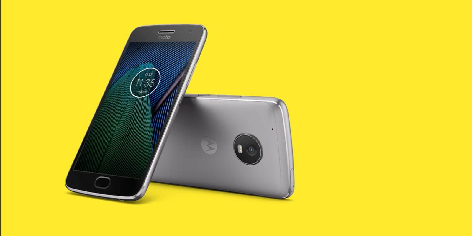 Moto g5 plus hero
