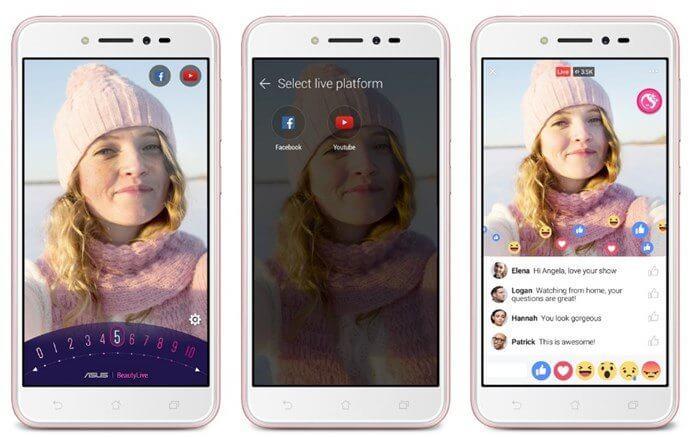 Asus Zenfone Live - ASUS lança ZenFone Live: smartphone que embeleza vídeos em tempo real