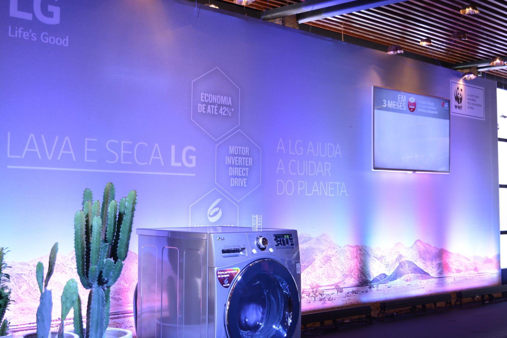 Campo de Teste: no dia mundial da água, LG conscientiza com nova campanha
