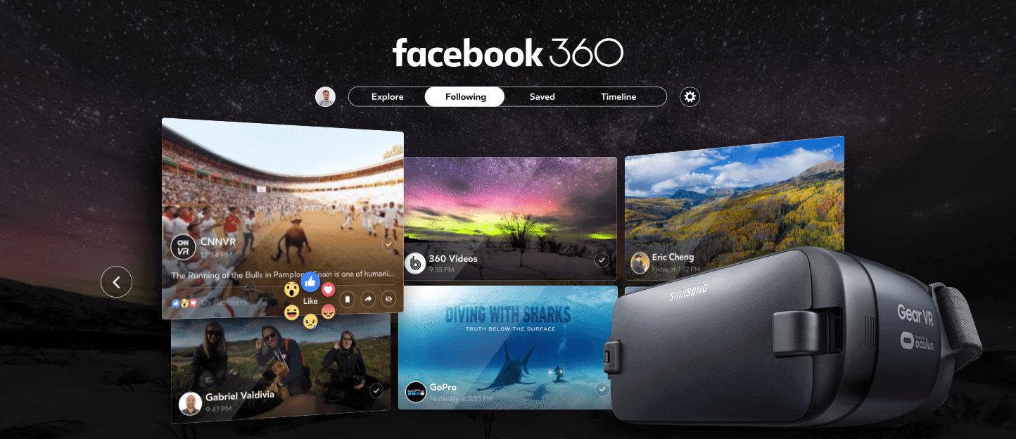 Facebook 360 Headset Grid