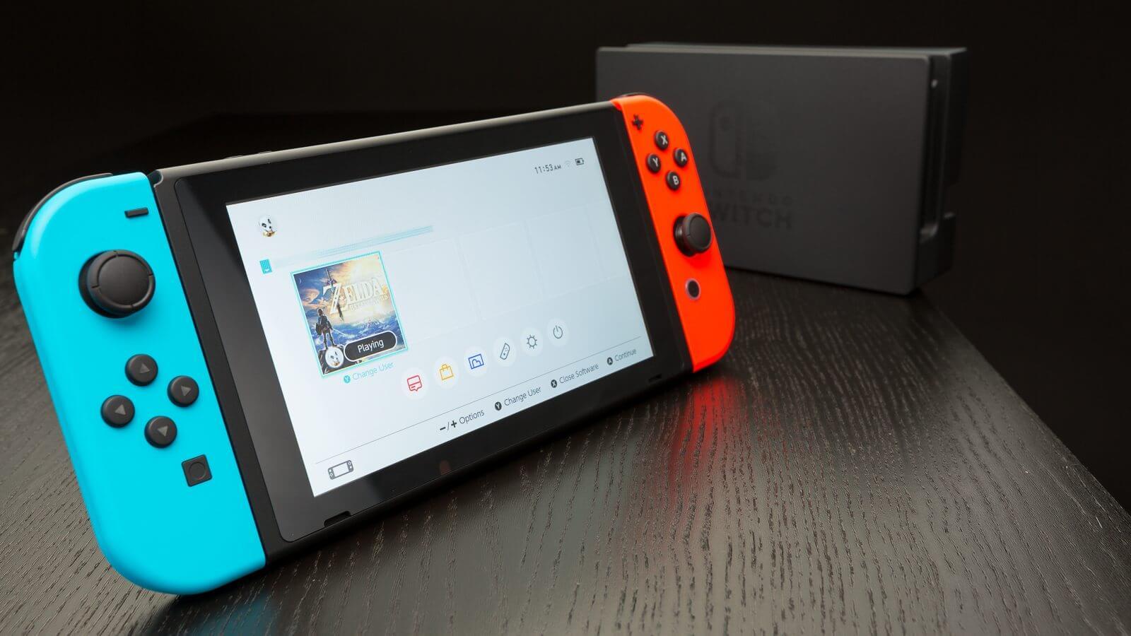 Nintendo switch 10