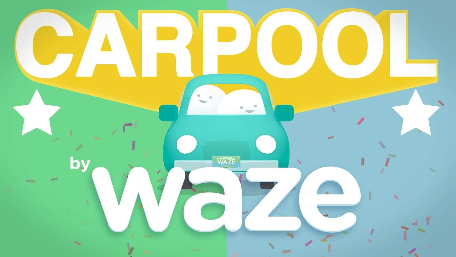 Waze Carpool capa melhor