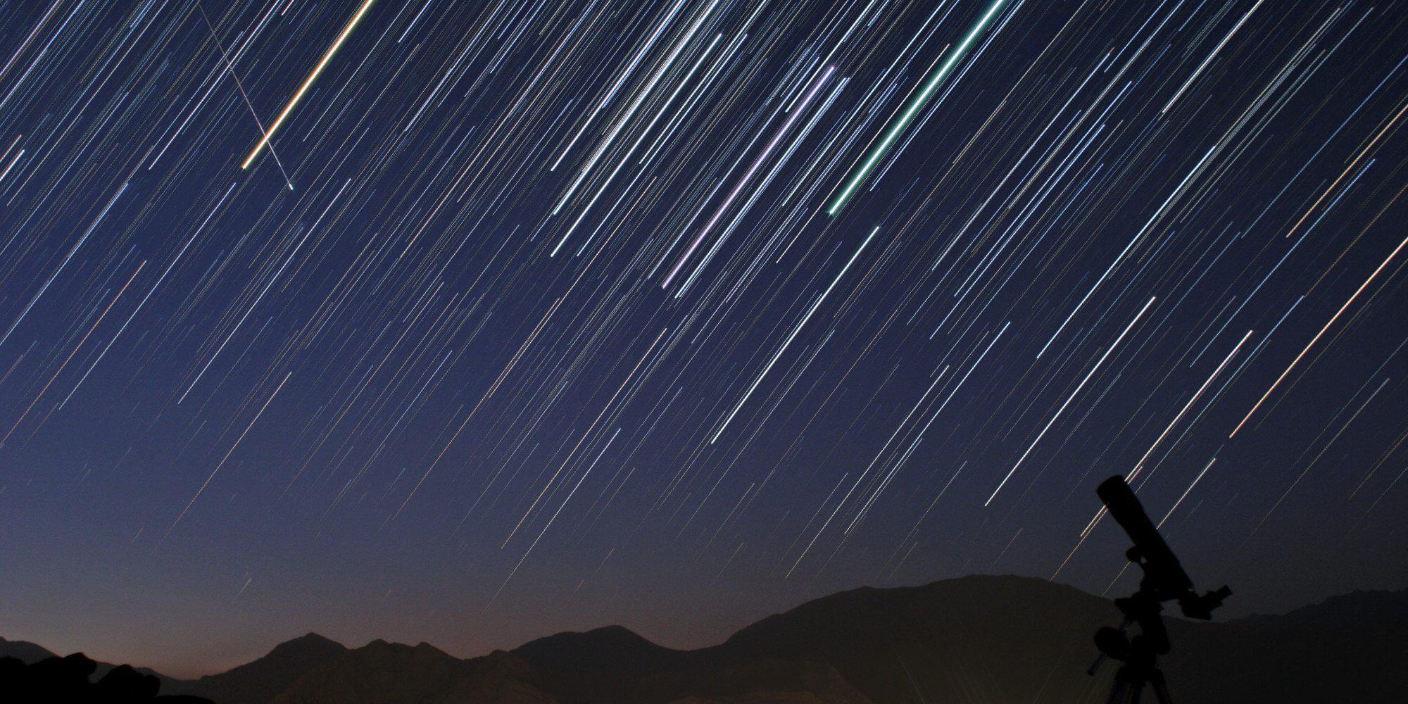 chuvas de meteoros