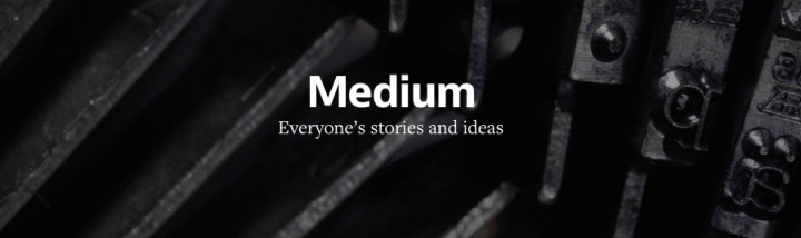 "medium logo jun 2014 720x214 - Medium segue Snapchat e cria ""Series"", histórias que podem durar para sempre"