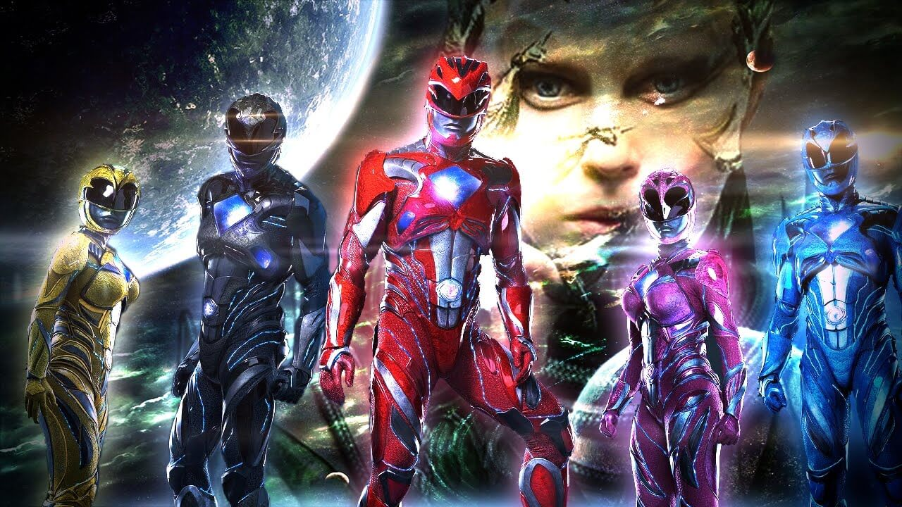 Power rangers capa
