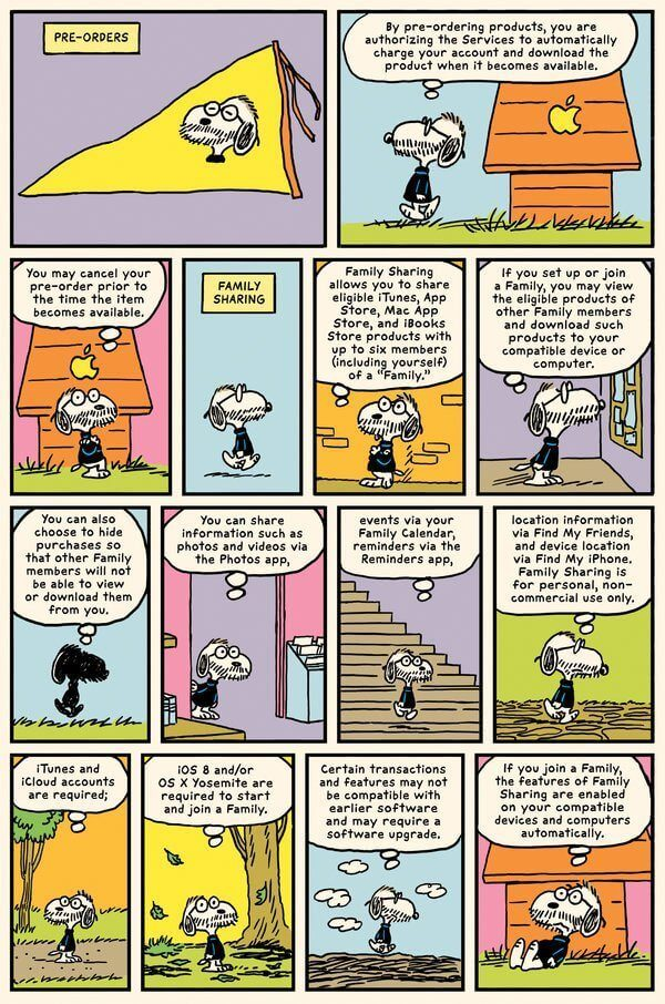 terms conditions peanuts