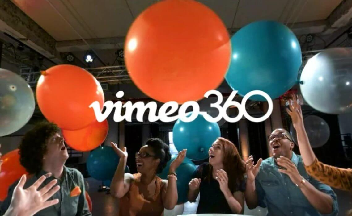vimeo 360 lancamento