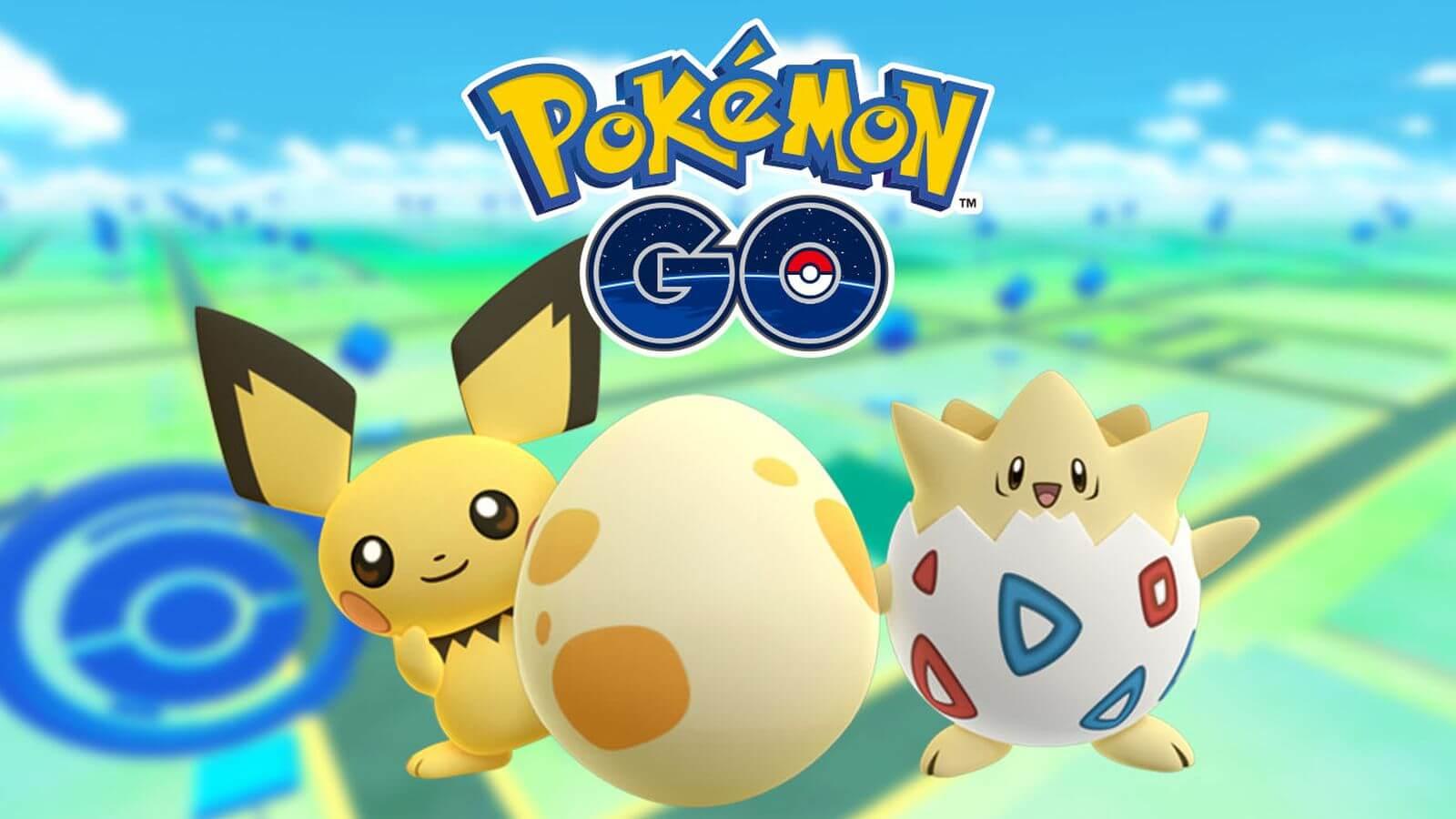 Pokemon GO Togepi Pichu.0