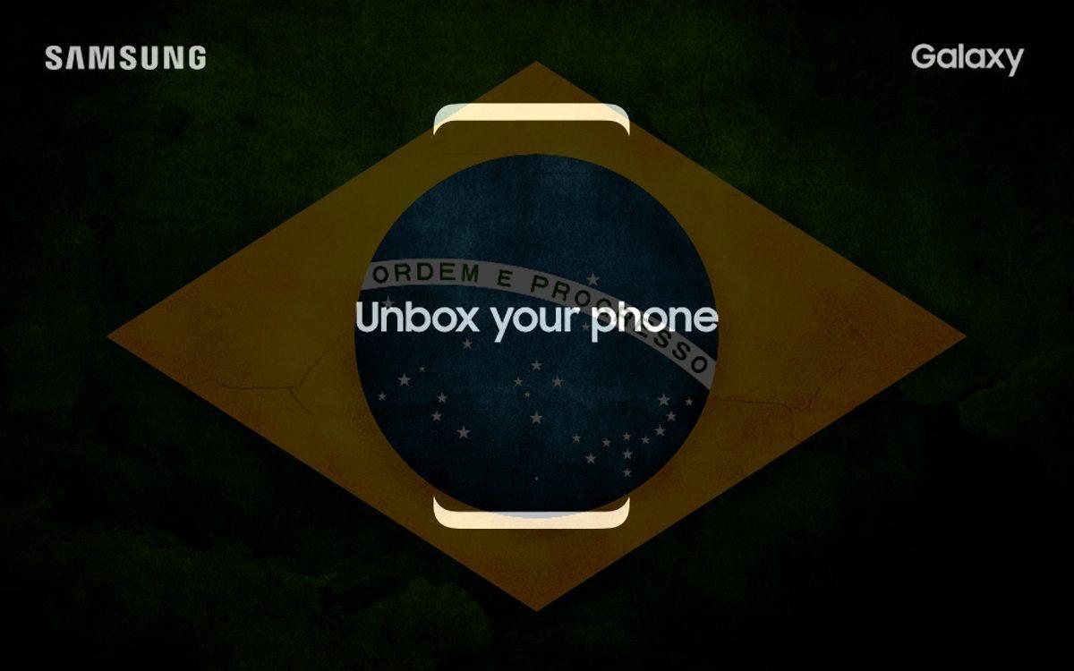 Samsung galaxy S8 Brasil