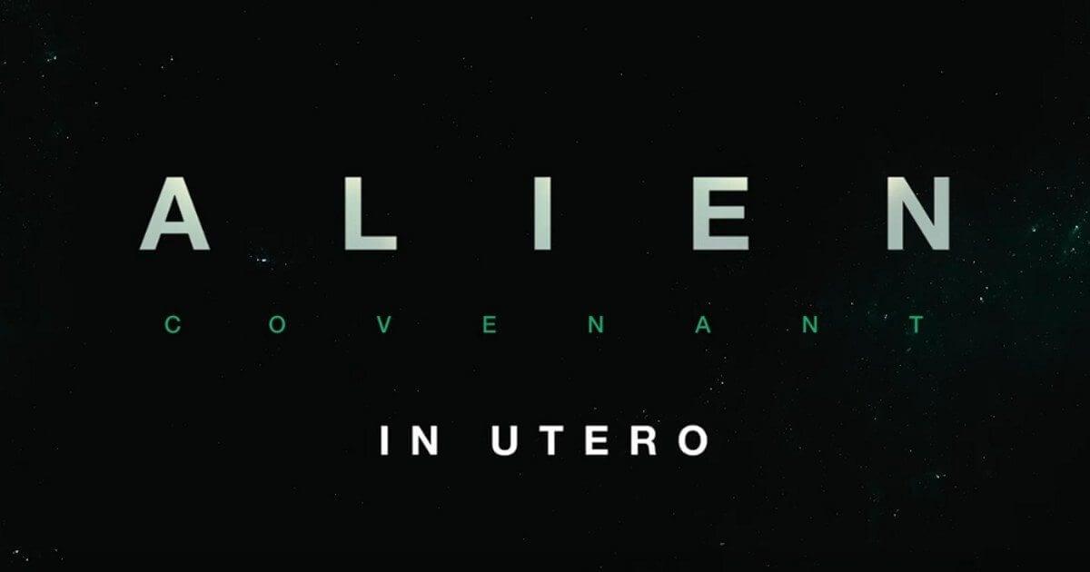 "Filme ""Alien: Covenant in Utero"" ganha tratamento de Realidade Aumentada"
