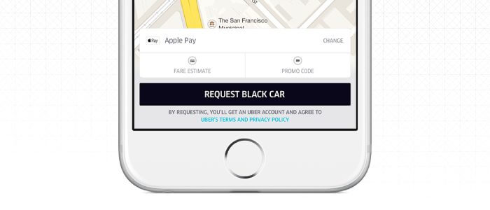 Apple Pay Uber