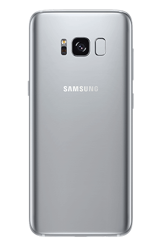 Galaxy s8 gallery back arcticsilver s4