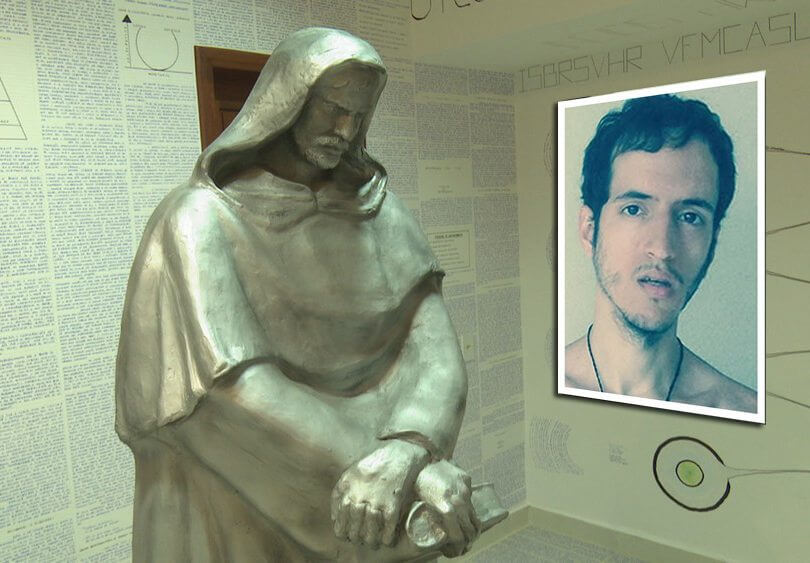 jovem do acre estatua