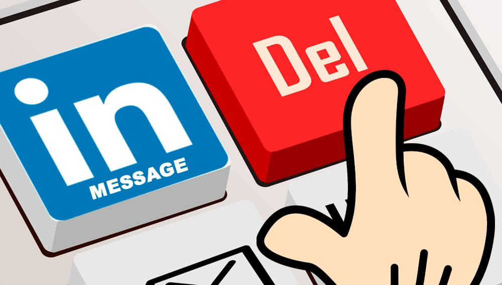linkedinmessage delete