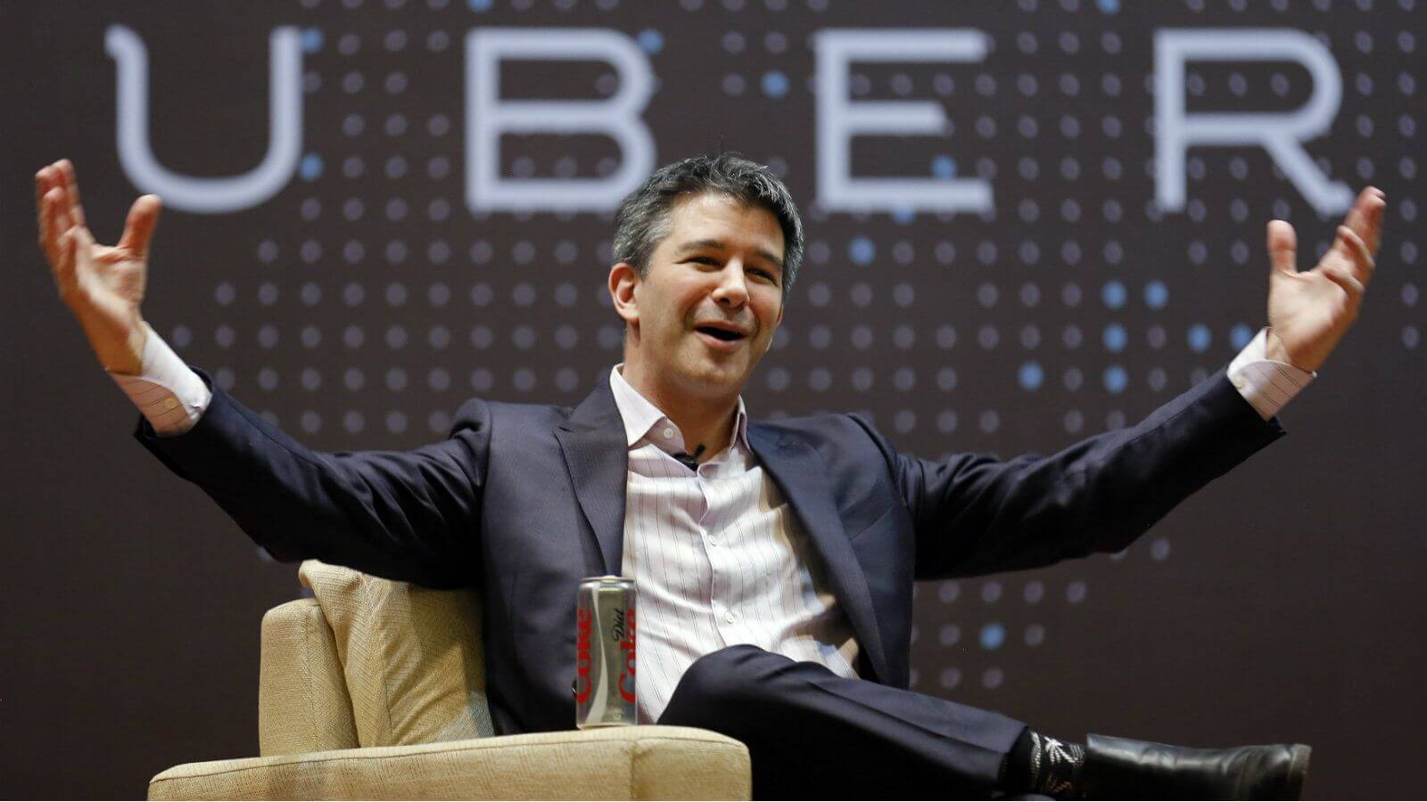 Travis kalanick fights with uber driver
