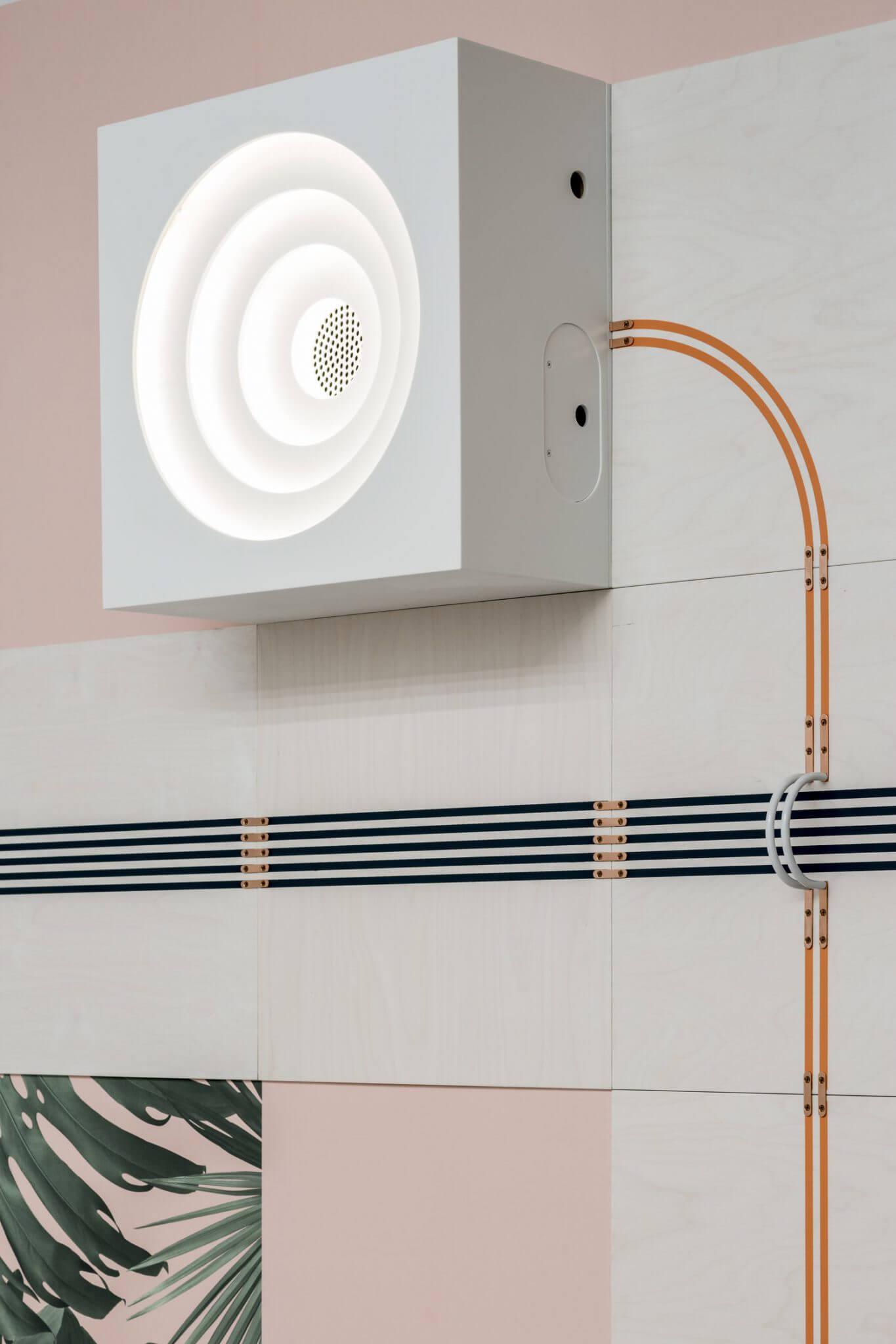 UMxFlavorPaper Conduct04HR - Papel de parede futurista quer ser a instalação elétrica da casa