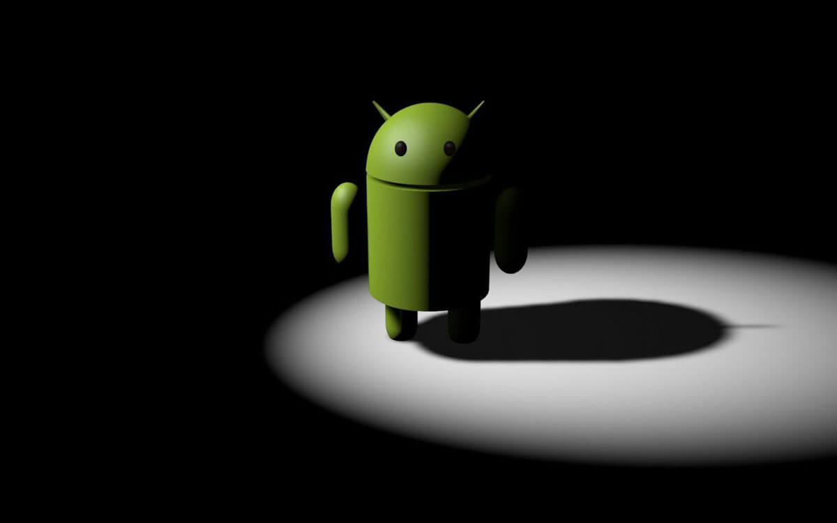 Android robot sign
