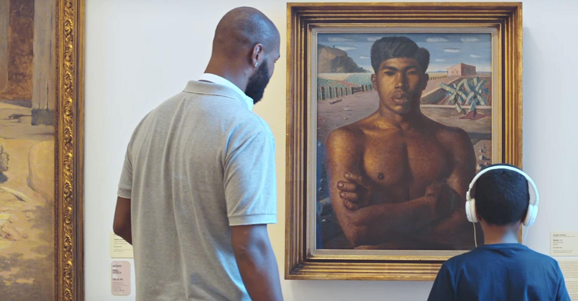 Pinacoteca a voz da arte ibm