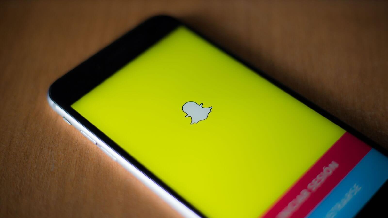 snapchat app ios