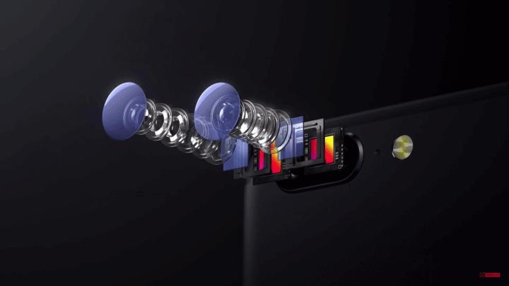 Câmera oneplus 5 gearbest