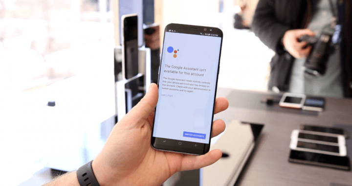 GOOGLE ASSISTANT - GALAXY S8